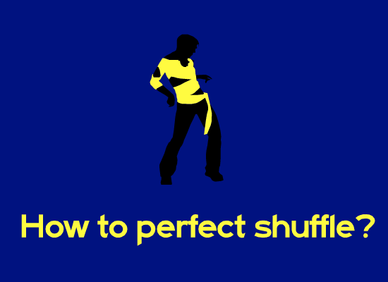 How to perfect shuffle?